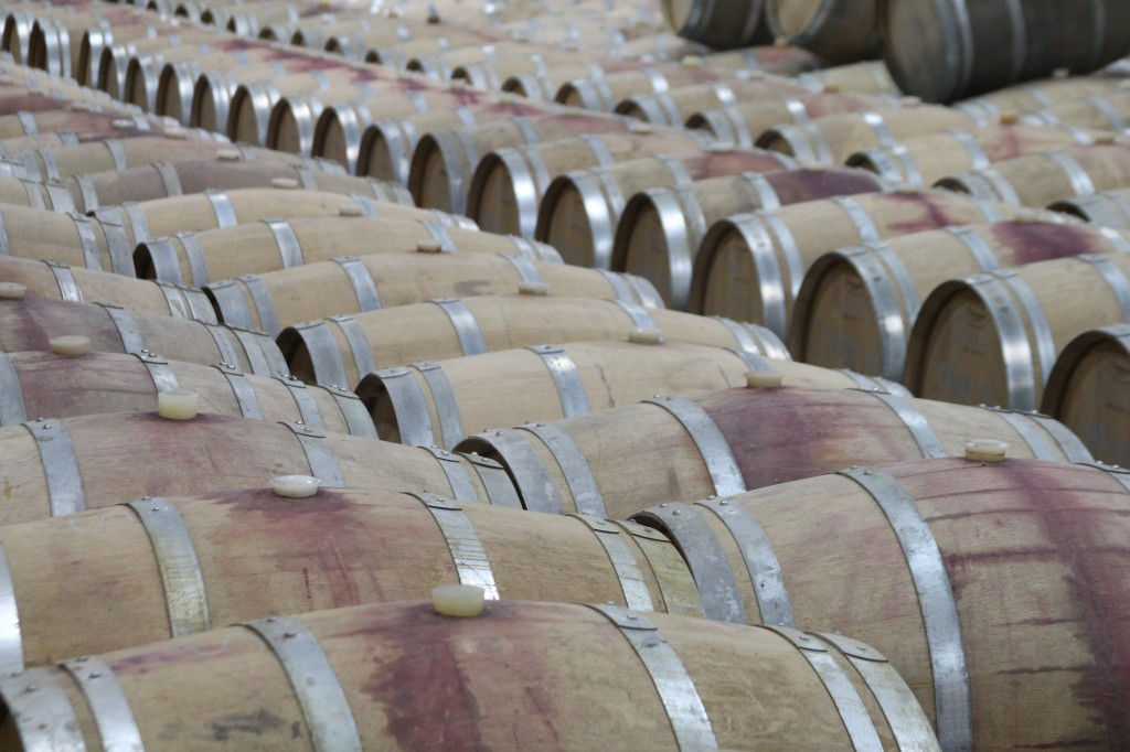 The French Oak Barrels and Black Ankle.