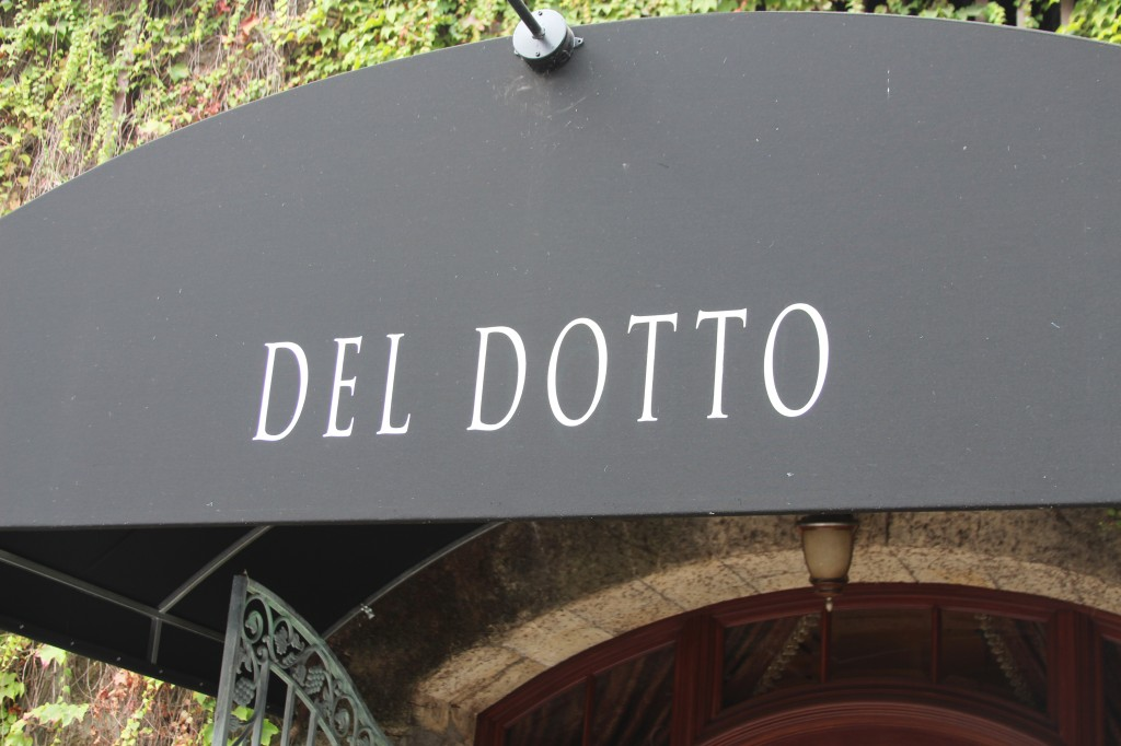 Del Dotto Winery Barrel Tasting