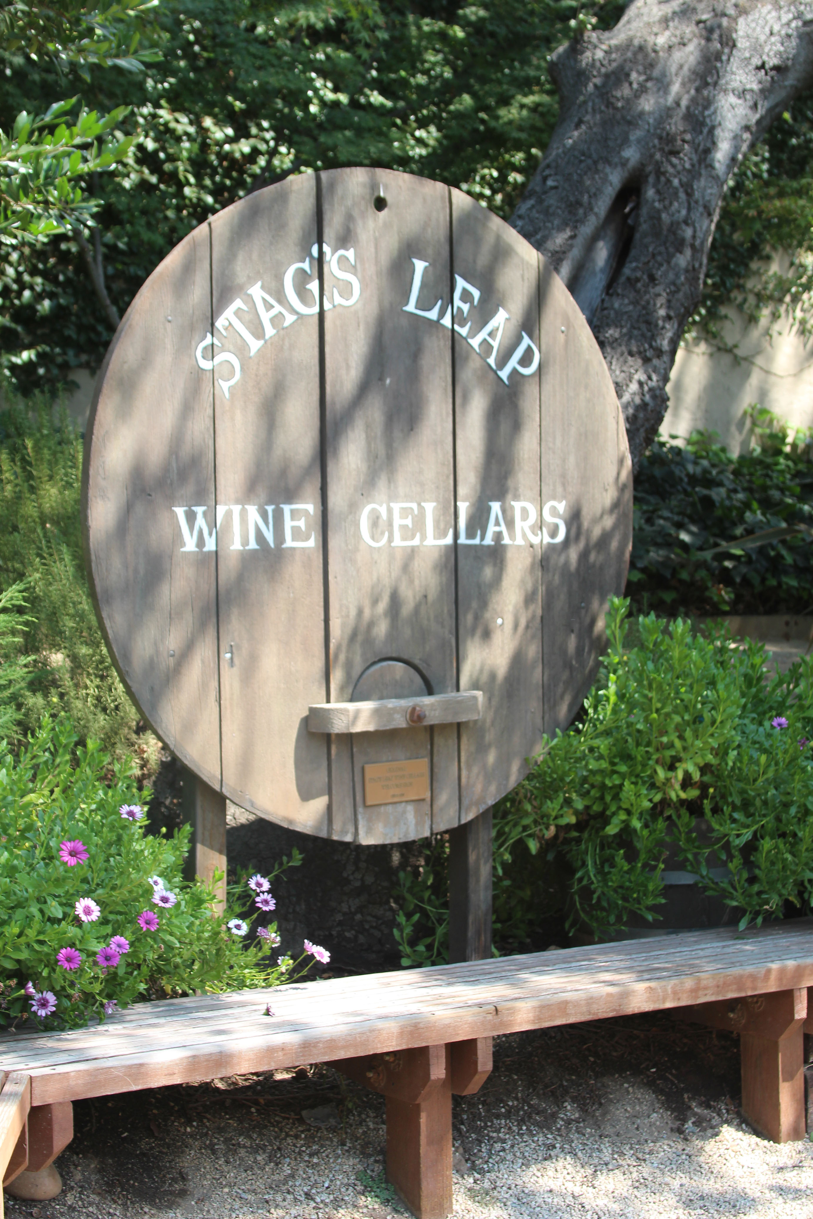 Stag's Leap Sign
