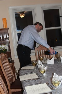Pouring the First Course